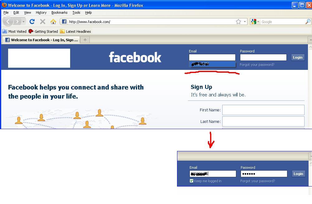 Www facebook yahoo com login